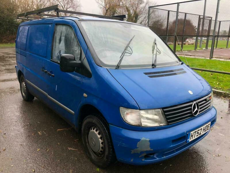 2002 Mercedes-Benz Vito 2.2TD 110CDi COMPLETE WITH M.O.T ...