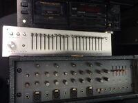 Hi fi job lot +vcr recorders (sold as seen)