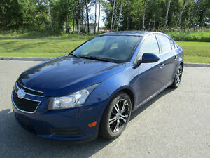 NÉGOCIABLE. 2013 Chevrolet Cruze LT Turbo Berline