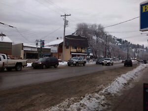 commercial/residential heritage style building in the okanogan