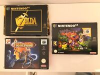 Nintendo 64 games bundle