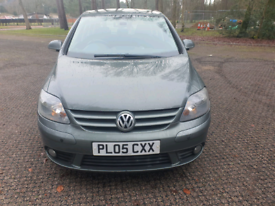 2005 VW GOLF PLUS TDI GT