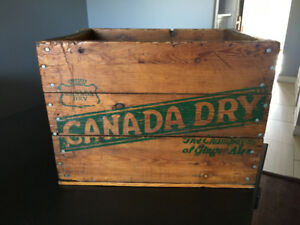 Canada Dry Vintage Crate
