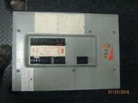 fed pioneer 100 amp electrical panel with breakers