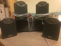 5.1 Tannoy Surround Sound Speakers and Subwoofer