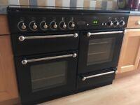 Rangemaster 110 dual fuel cooker