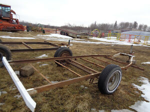 "trailer project gvw 3500 lbs 12'x61"" betwen tires."