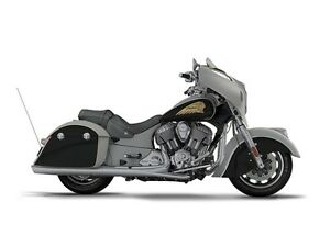 2017 Indian Motorcycle Chieftain Star Silver Over Thunder Black