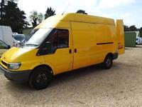 FORD TRANSIT 350 LWB H-R, new mot. NO VAT, Yellow, Manual, Diesel, 2006