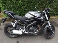Yamaha MT125 ABS 65plate UNDER WARRANTY