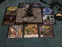 Playstation 1. 9 games.