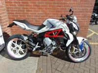 2015 MV AUGUSTA BRUTALE 800 - WITH R&G RAD GUARD QUICKSHIFTER TAIL TIDY