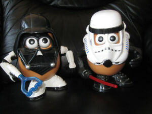 STAR WARS  Collectible Mr. Potatoe Head Toys
