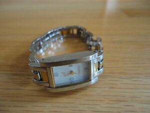 Women's Fossil silver gold two tone wristwatch London Ontario image 1