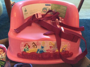 Booster Seat - The First Years Disney Princess - New