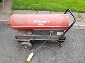 Munters sial diesel space heater 30kw