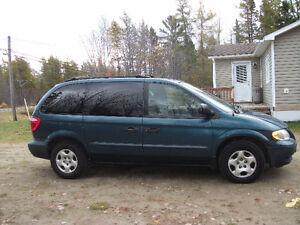 2002 Dodge Caravan Minivan, Van  (Seats 7)