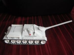Military Russian Tank S.U. 100  -  Diecast Solido #208 (1964)