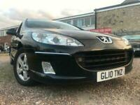 PEUGEOT 407 HDI ESTATE BLACK PAN ROOF SERVICE HISTORY LONG MOT FREE DELIVERY!!!