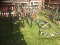 Job lot 4 bikes, Reynolds shwinn Dawes repairs