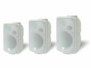 outdoor speakers sold in pair high quality $109.99 all weather