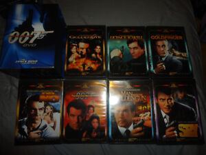 JAMES BOND 007 SPECIAL EDITION 7 DVD BOX SET