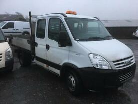 IVECO DAILY 40C18D CREWCAB TIPPER, White, Manual, Diesel, 2009