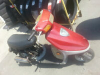 49 cc Gas powered scooter