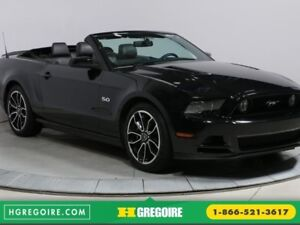 2014 Ford Mustang GT 5.0 CONVERTIBLE CUIR NAV MAGS