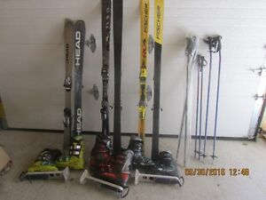 2 ski packages( skis, boots, boot carrier and poles) St. John's Newfoundland image 5