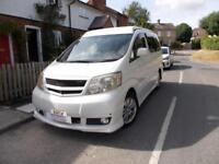 2004 Toyota Alphard G Pop Top Campervan 5 Door Automatic Air Con 5 Seat Belts