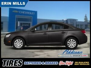2014 Chevrolet Cruze LT  Connectivity Package Factory Warranty