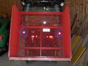 boite de transport 3 point de tracteur