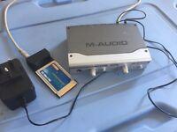 M-Audio Audiophile FireWire sound card