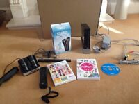 Wii Black PAL with accessories