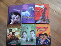 ASSORTED GIRLS BOOKS