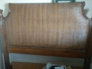 Rattan Wicker style Queen Headboard Heavy