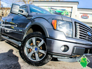 '11 Ford F-150 SuperCrew FX4+Nav+Sunroof+Leather+4X4! $208/Pmts!