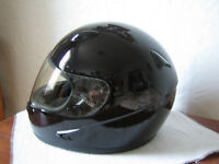 Black Full-Face Helmet D.O.T. SML