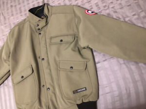 Brand New Canada Goose M Tech Stone Grey Bomber Jacket