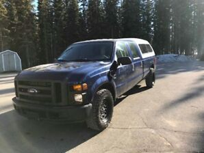 2008 Ford F250 Crew Cab Long Box