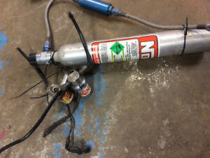 Sold Motorcycle NOS bottle and injectors