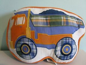 Dump Truck Accent Cushion