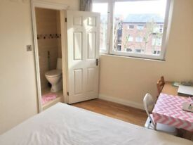 DOUBLE ROOM **with PRIVATE BATHROOM ** available now in ST JOHNS WOOD