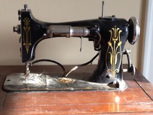 Antique Rotary Electric Sewing Machine Model B