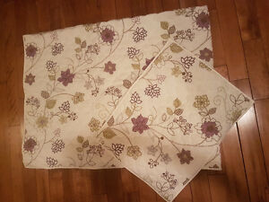 Single bed quilt and pillow sham