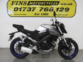 2016 Yamaha MT125, Low mileage, 1 Owner, Superb condition