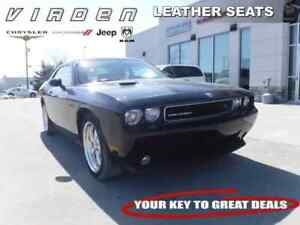 2010 Dodge Challenger R/T **LEATHER SEATS!! LOW KMS!!**
