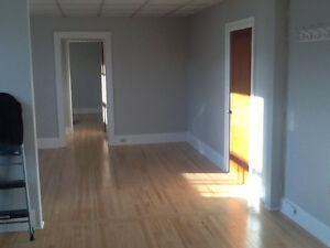 2 bedroom heated upstairs apartment