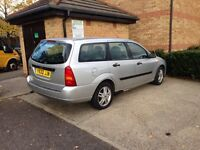 2001 Ford Focus 1.6 petrol Estate Car Automatic Good runner Tax&mot